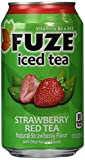 Fuze Iced Tea 12oz Can (Pack of 24) (Strawberry Red Tea)