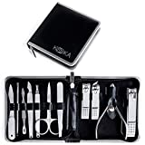 Koooka 11-piece Professional Stainless Steel Nail Clipper...