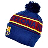 Barcelona Text Cuff Knitted Hat