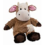 Warmies Beddy Bears Cocoa Cow with Lavender Scent Brown