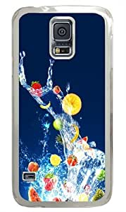 Fruits PC Case Cover for Samsung S5 and Samsung Galaxy S5 Transparent