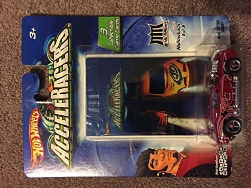 Hot Wheels AcceleRacers Metal Maniacs #5 of 9 Hollowback Includes 3 Collectible Game Cards (Hot Wheels Teku Cars Acceleracers)