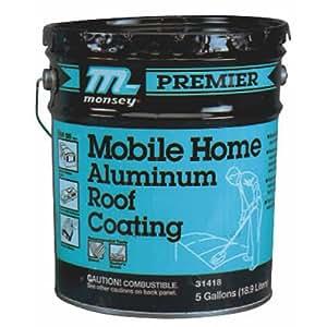 Amazon.com: Henry Pr525071 Aluminum Roof Coating, 5 Gallon