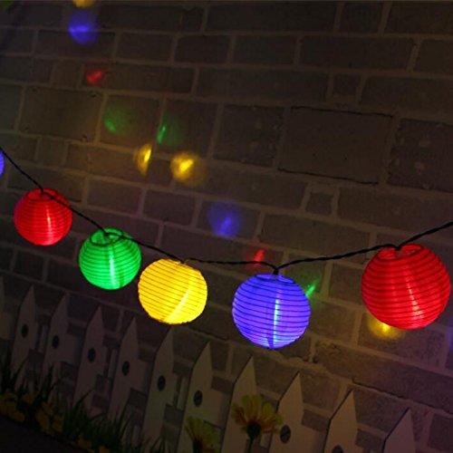 GLISTENY Lighting Waterproof Christmas Colorful product image