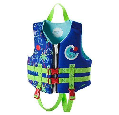 Speedo Neoprene Personal Flotation Device Swim Vest - Weight 30-50 lbs.