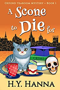 A Scone To Die For by H.Y. Hanna ebook deal