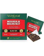 English Breakfast Tea (30 Black Tea Bags) | HIGH ENERGY & CAFFEINE - Healthy Coffee Replacement | Strong, Robust & Flavoury Black Tea Bags | Brew Hot, Iced, Kombucha Tea, Milk Tea | ANTIOXIDANTS RICH