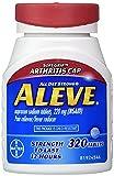 Aleve Arthritis Caplets, 4Pack (320 Count Each ) Blsekh