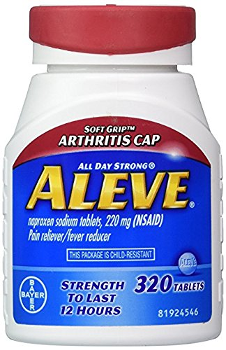 Aleve Arthritis Caplets, 4Pack (320 Count Each ) Blsekh by Aleve (Image #1)