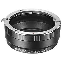 Neewer Lens Mount Adapter for Sony A7 A7S/A7SII A7R/A7RII A7II A3000 A6000 A6300 NEX-3 NEX-3C NEX-5