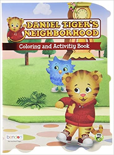 Daniel Tiger\'s Neighborhood Coloring and Activity Book: Bendon ...