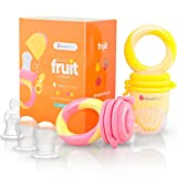 NatureBond Baby Food Feeder/Fruit Feeder Pacifier (2 Pack)...
