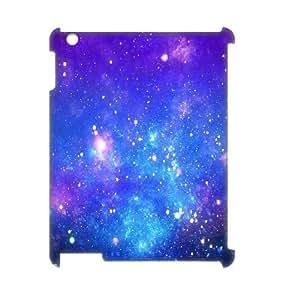 Galaxy Purple Customized 3D Cover Case for Ipad2,3,4,custom phone case ygtg597583