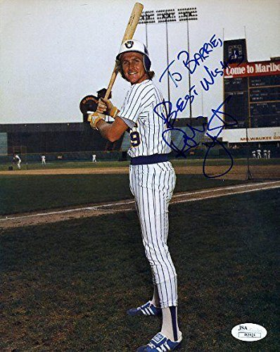 Robin Yount Autographed Photo - Certed 8x10 Authentic - JSA Certified - Autographed MLB Photos