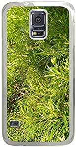 Chevron Retro Vintage Tribal Nebula Pattern Galaxy S5 Cases - Compatible With Samsung Galaxy S5 SV i9600 - Hard Shell Transparent Samsung Galaxy S5 SV i9600 Cover Cases Grass Green 1