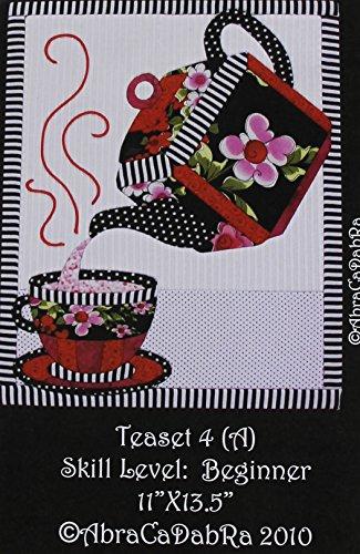 Artsi2 A2TEAST4 Tea Set Wall Hanging Kit (Patterns Wall Free Quilt Hangings)