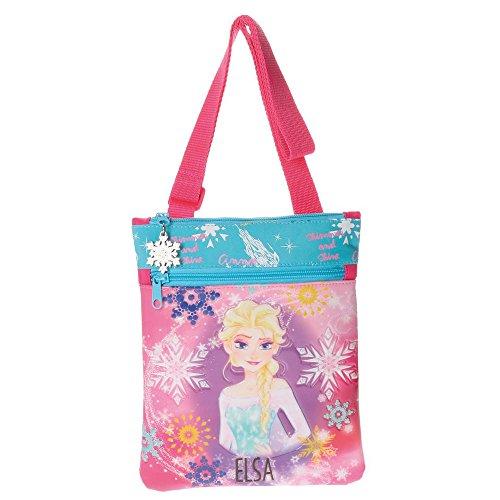 Frozen Elsa Borsa Messenger, 24 cm, Rosa