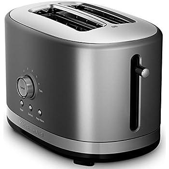 Amazon Com Kitchenaid Kmt2116qg 2 Slice Slot Toaster With