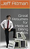Whether you are a beginner or an experienced medical billing professional, you need a great resume to help you find your next job. This report walks you through how to write a great medical billing resume and offers several samples that you can model...
