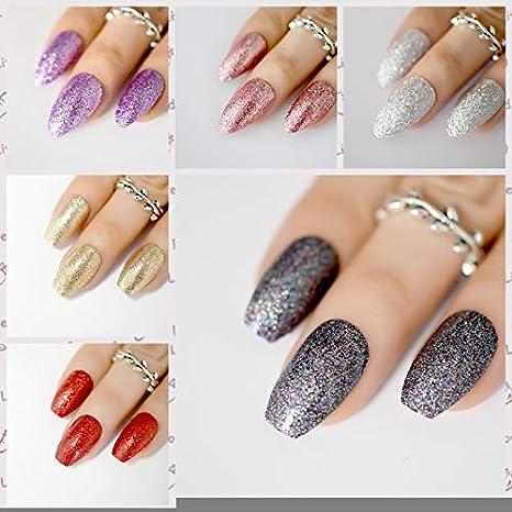 Amazon.com : Extra Long Sharp Classic Solid Black Stiletto False Nails Tips Oval Stilettos Bright Black UV Gel Salon Acrylic Fake Nail Art Z753 : Beauty
