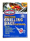 reynolds hot bags - Kingsford Extra Tough Aluminum Grill Bags, for Locking in Flavors & Easy Grill Clean Up, Recyclable & Disposable, 15.5