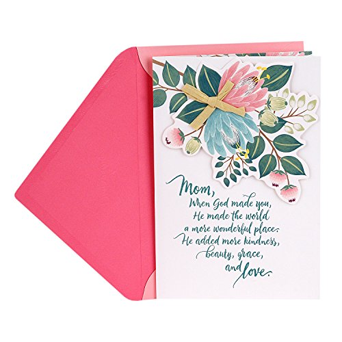 DaySpring Mother's Day Greeting Card (Kindness, Beauty, Grace, Love)