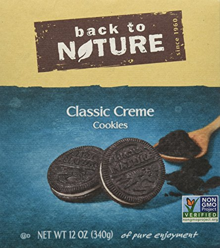 Back to Nature, Classic Creme Cookies, 12 Ounce (Pack of 6)