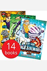 Secret Agent Jack Stalwart Collection 14 Books Set (The Deadly Race To Space Russia, The Quest For Aztec Gold Mexico, The Pursuit Of The Ivory Poachers Kenya, The Puzzle Of The Missing Panda China) Paperback