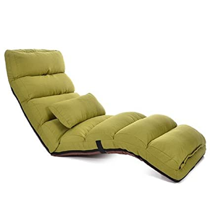 ZLJTYN Lounge Chairs | Floor Folding Chaise Lounge Chair Modern Fashion  Living Room Comfort Daybed Lazy