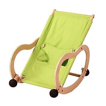 Qi Peng Silla Mecedora para bebés Silla cómoda para bebés ...