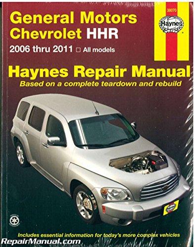 H38070 Chevrolet HHR 2006-2011 Repair Manual by Haynes