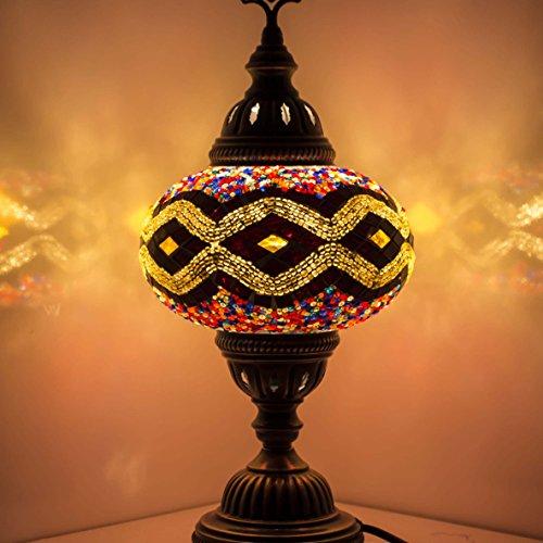 Abats Jour Mosaique Lampes Table Et Chevet Superbe Style