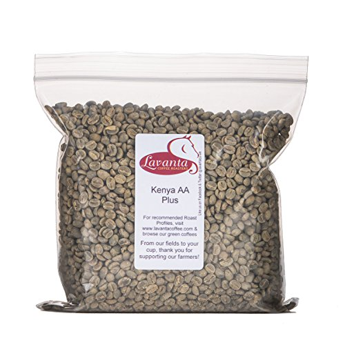 Lavanta Coffee Roasters Kenya AA Plus Green Direct Trade Coffee, 2lb