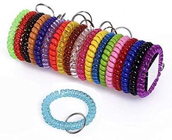 Amazon.com: shapenty Colored plástico bobina Stretch ...
