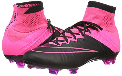 Fg Lthr Scarpe Mercurial pinkpow Uomo Nike black hyperpink Multicolore Superfly Da Calcetto xftIExwdq