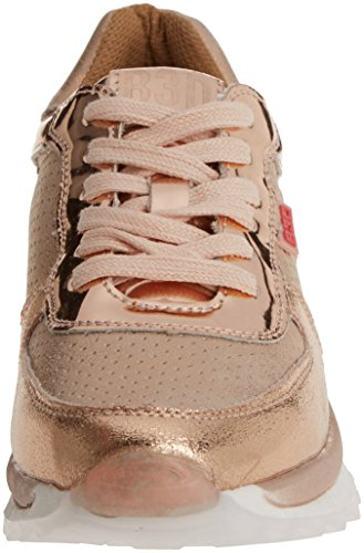 Nude Nude bass3d Pink Trainers 041321 Women's xYwR6F0
