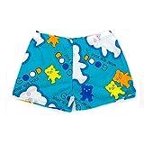 Boy's Swimwear Sport Shorts Beach Shorts Swim Trunks Bear,Light Blue