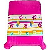Colchas Concord Coqueta Cobertor Ultra Suave Matrimonial/Individual, color Rosa
