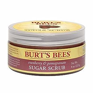 Burt's Bees Cranberry & Pomegranate Sugar Scrub, 8 Ounce