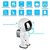Cheap FAITH 960P HD Wireless WiFi IP Robot Camera,1.3MP CMOS Baby Monitor Pan Tilt Remote Home Security P2P IR Night Vision for Mobile Android/IOS and Laptop
