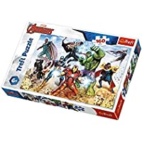 Trefl Çocuk Puzzle Ready to Save the World / Disney Marvel 160 Parça