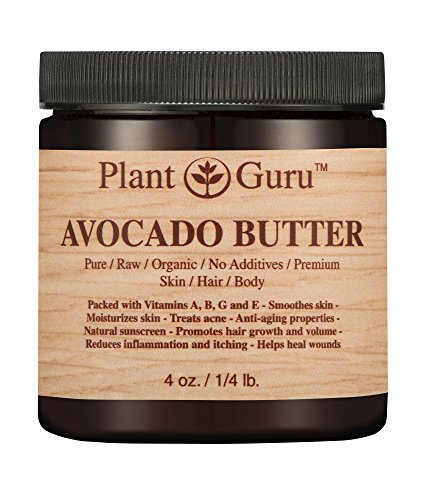 Avocado Body Butter 4 oz. 100% Pure Raw Fresh Natural Cold P