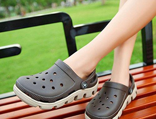 Nuevos Tamaño Opcional De De 2018 WKNBEU H De Zapatos Verano Zapatillas De Playa Zapatos Par Gran Jardín Antideslizantes Hombre De Multicolor Plataforma De Sandalias qp4BwE