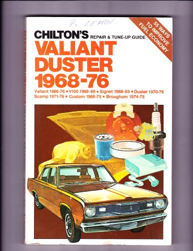 Chilton's Repair and Tune-Up Guide, Valiant and Duster 1968-76