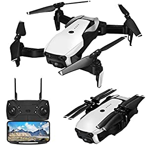 Drone with Camera 1080P for Adults,EACHINE E511 WiFi FPV Live Video Quadcopter with 120° FOV 1080P HD Camera, 17mins Long Flight Time Foldable RC Drone RTF – Altitude Hold, 3D Flip, APP Control 51Mwro6BLLL