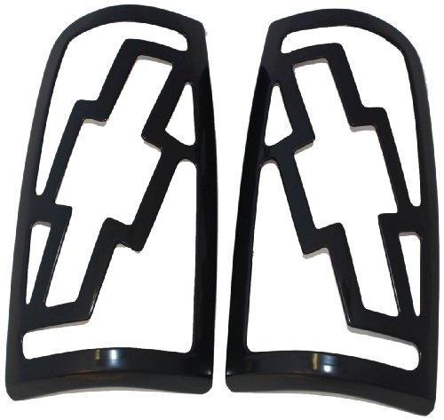 Bow Tie Tail Light Covers (AMI V2450K Tail Light Cover with Bow Tie Design)
