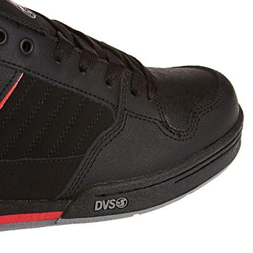 Dvs Mens Durham Skate Schoen Zwart Nubuck Deegan