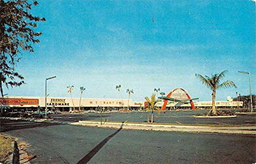Lakeland Florida Southgate Shopping Center Vintage Postcard - Southgate Shopping