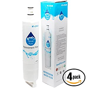 4-Pack Replacement Whirlpool 4396918 Refrigerator Water Filter - Compatible Whirlpool 4396918 Fridge Water Filter Cartridge