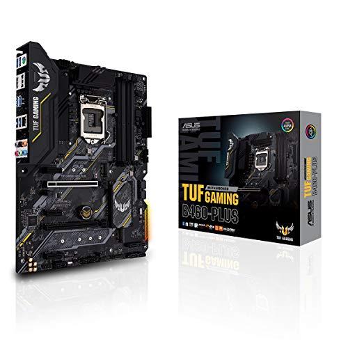 ASUS TUF GAMING B460-PLUS moederbord Intel B460 (LGA 1200) ATX met Dual M.2, 8 standen, HDMI, DisplayPort, SATA 6Gbps…